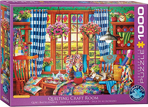 Quilting Craft Room 1000-Piece Puzzle