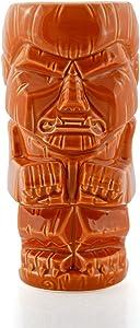 Geeki Tikis 16 Ounce Ceramic Mug| Werewolf Wolfman | Brown