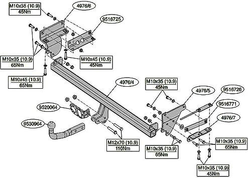 NISSAN QASHQAI 2007-2014 J10 Fixed Swan Neck Towbar