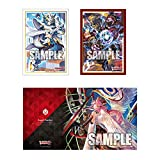 Cardfight!! Vanguard G Fukuhara High School Event Limited Card Game Character Sleeve Play Mat Supply Set Anime Art Collection