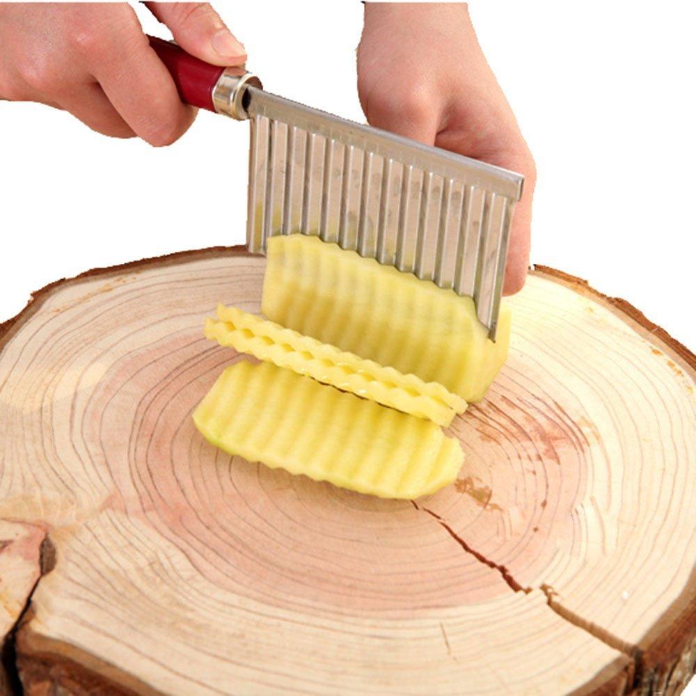 Gossip Jungen–Collection Kitchen Tools & Gadgets–Allesschneider, Apfelentkerner, Sparschäler, Löffel, Cutter, Crinkle Chip Slicer