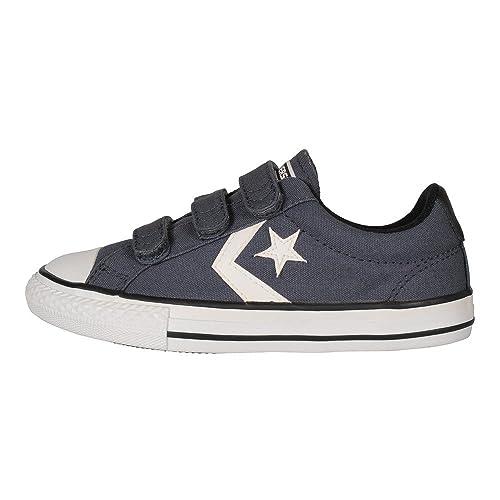 Zapatillas para niï¿œo, color Azul , marca CONVERSE, modelo Zapatillas Para Niï¿œo CONVERSE CHUCK TAYLOR STAR PLAYER 3V OX Azul: Amazon.es: Zapatos y ...