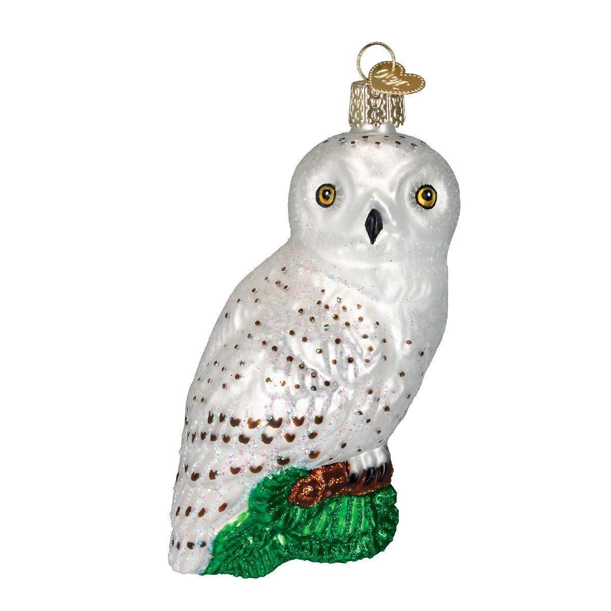 Awesome Owl Christmas Ornament Part - 2: Amazon.com: Old World Christmas Great White Owl Glass Blown Ornament: Home  U0026 Kitchen