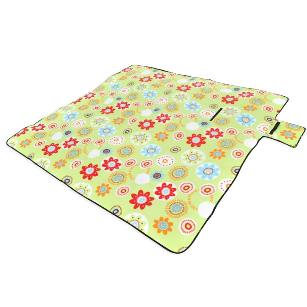 DADAO Picnic Blanket Waterproof Extra Large Washable,Perfect for Hiking, Camping, Music Festivals, Outdoor Sporting Events, Picnics and More!,3,200x200cm