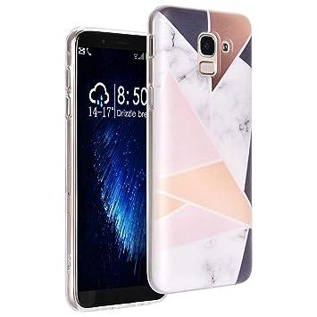 Amazon.com: Carcasa para Samsung Galaxy J6 2018, diseño de ...