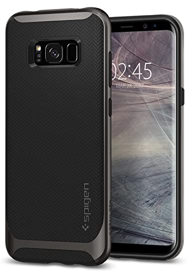 separation shoes f430e 3c9c1 Spigen Neo Hybrid Designed for Samsung Galaxy S8 Case (2017) - Gunmetal