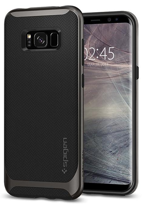 Spigen Neo Hybrid Designed for Samsung Galaxy S8 Case (2017) - Gunmetal