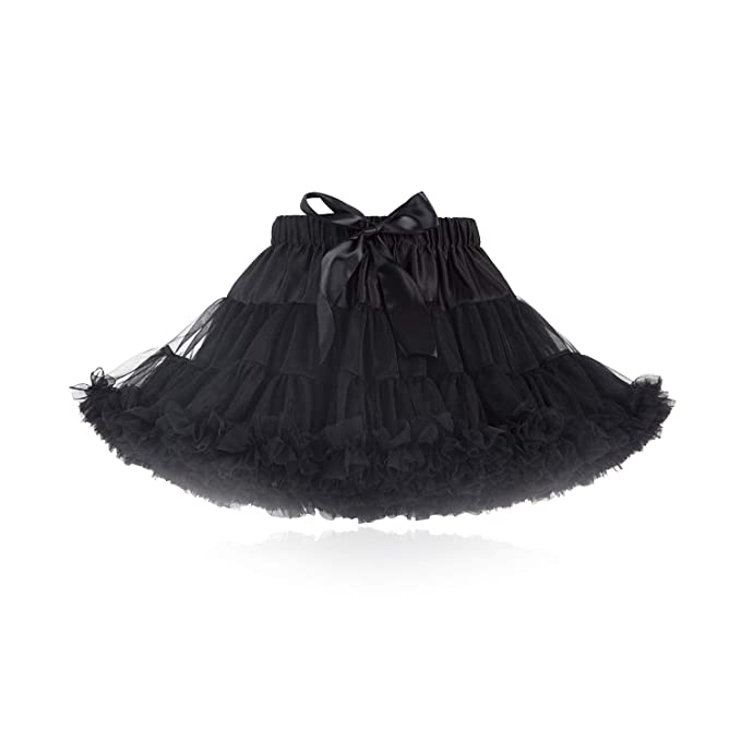 75ea086455 kephy Baby Extra Fluffy Princess Tutu Skirt Little Girl Pleated ...