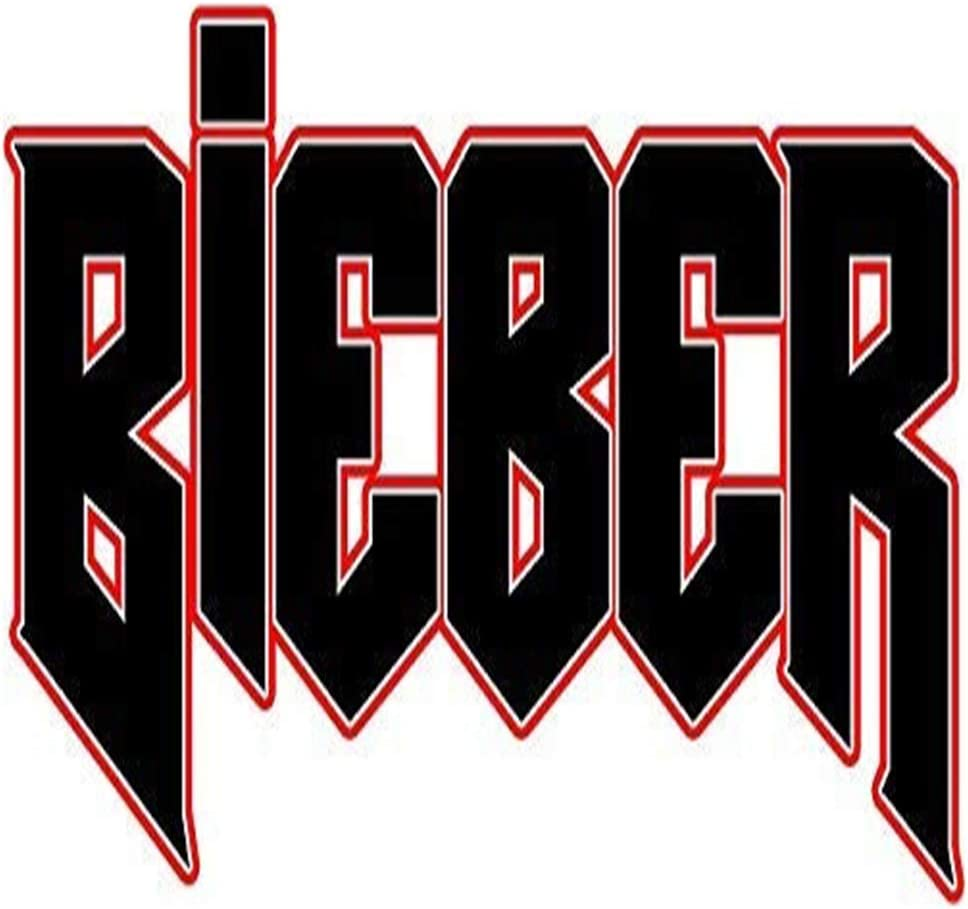 "Justin Bieber Printed Decal Sticker - 5"" Sticker for Cars Windows Notebooks Lockers Etc"