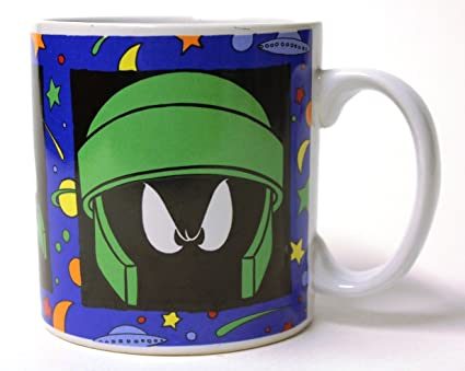 Amazon Com Looney Tunes Martian Mug Marvin The Martian