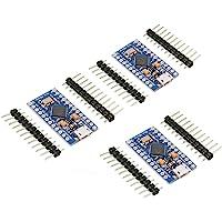 KeeYees Pro Micro ATmega32U4 Module de développement 5 V 16 MHz pour Arduino Leonardo Board Lot de 3