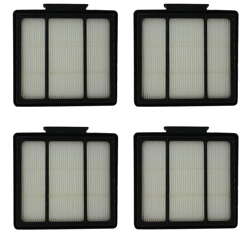 HIHEPA 4-Pack Pre-Motor HEPA Filter Replacement for Shark ION Robot RV700_N RV720_N RV850 RV851WV RV850BRN/WV Vacuum Cleaner Part Fit # RVFFK950