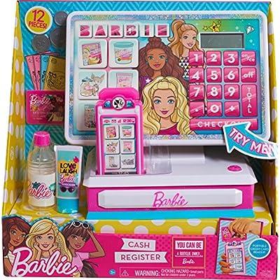 Barbie Large Cash Register: Toys & Games