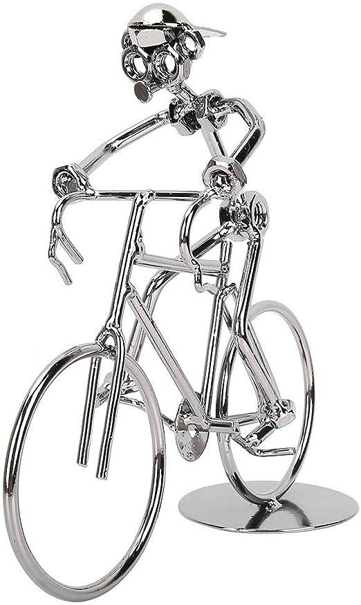 HEEPDD Adornos de Bicicleta Vintage, extraño Modelo de Jinete de ...