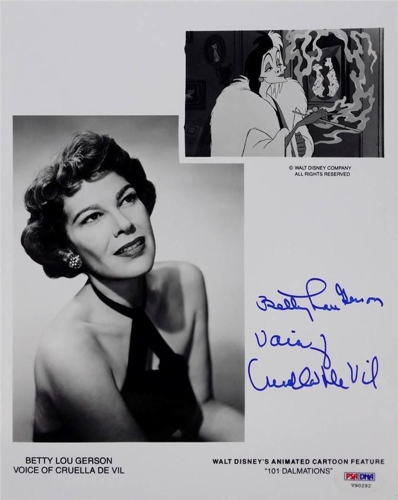 Watch Betty Lou Gerson video