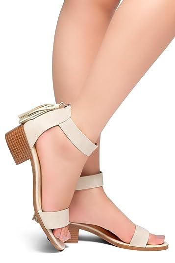 44d76b35c08 Herstyle Women s BRUEFLY Flat Sandals Khaki 11.0