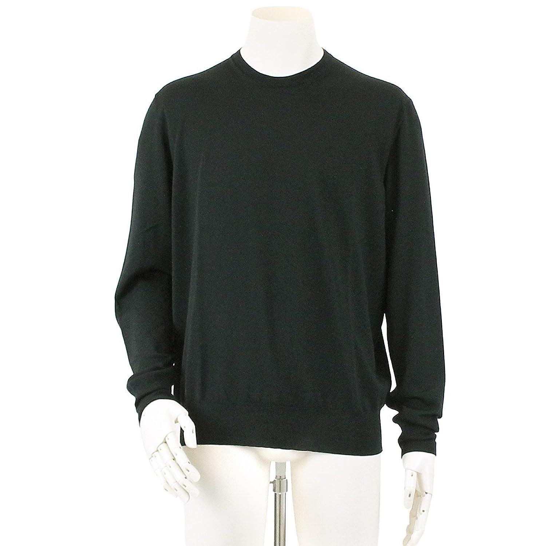 エルメス HERMES ニット セーター プルオーバー 長袖 ウール 100% ブラック サイズ XL メンズ 【中古】 90055409 B07FVT7K1C  -