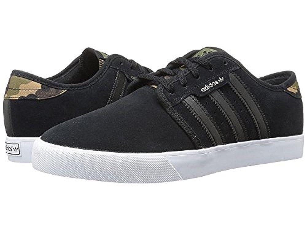 quality design f305b 24995 Amazon.com   adidas Skateboarding Seeley Black Olive Cargo White Men s Skate  Shoes   Skateboarding