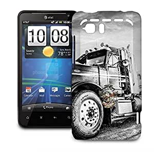 Phone Case For HTC Vivid - American Trucker Lightweight Cover