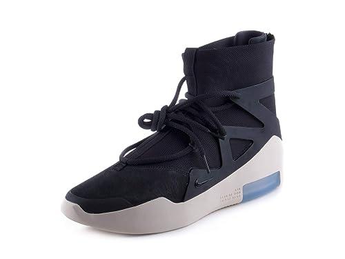 c3322c03b2023 Amazon.com | Nike Mens Air Fear of God 1 Black/Black Suede Size 11.5 ...