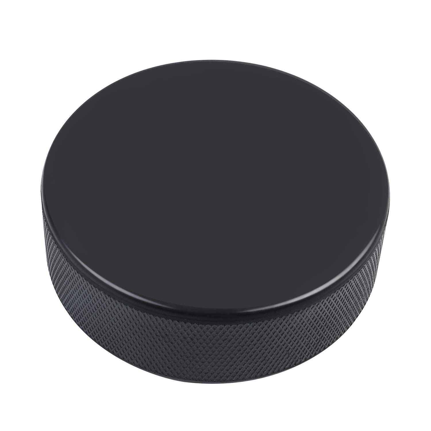 3pcs for Practicing and Classic Training Golden Sport Ice Hockey Pucks Diameter 3 6oz Official Regulation Black Thickness 1