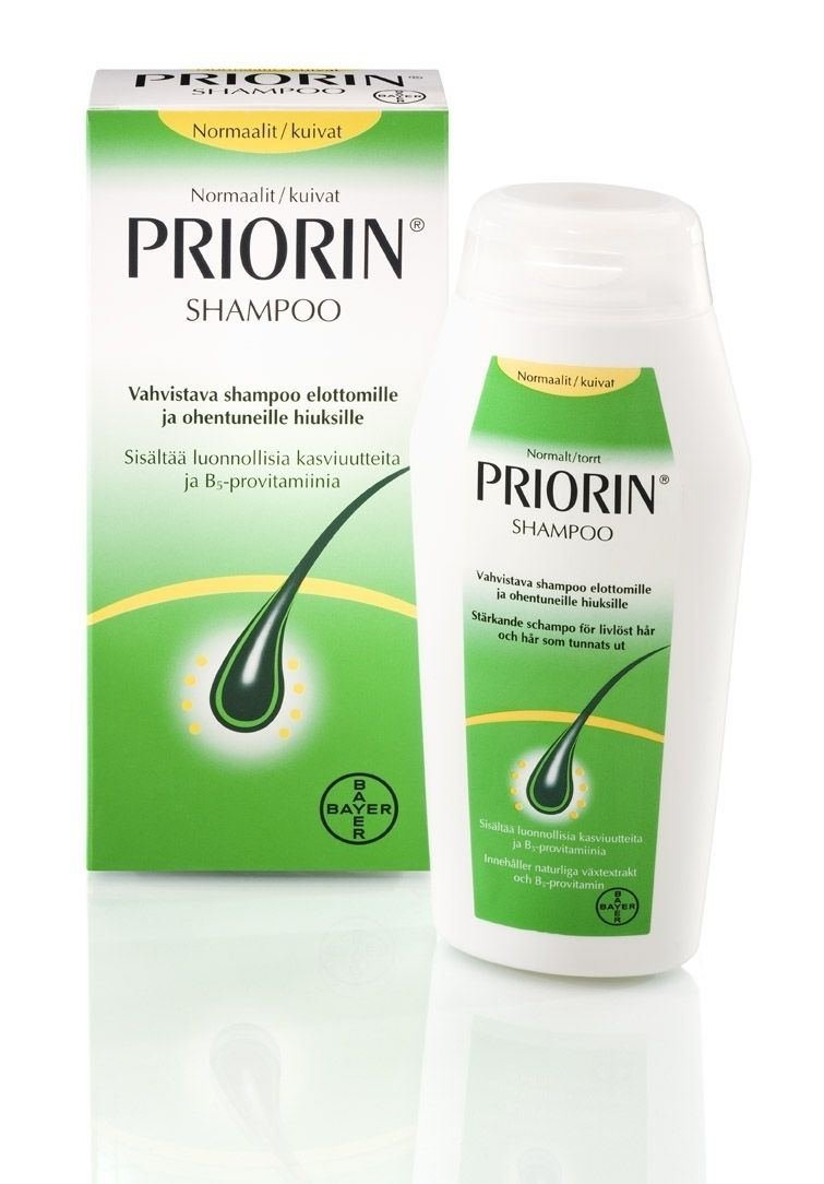 Priorin Anti Hair loss Shampoo for Normal - Dry hair 200ml by Priorin: Amazon.es: Belleza