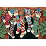Dimensions Needlecrafts Counted Cross Stitch, The Stockings Were Hung...