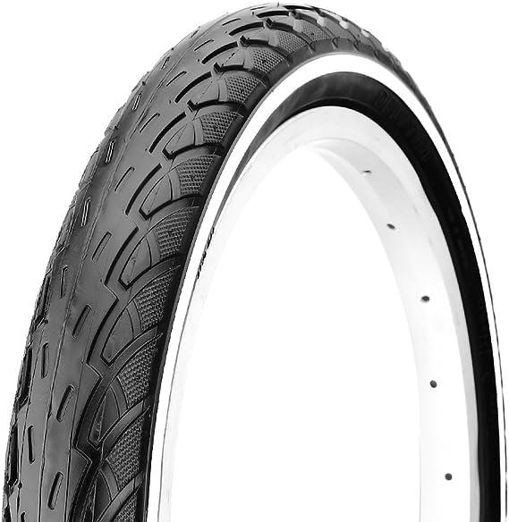 Deli v715400d neumático de Bicicleta 26 x 1,75, Color Negro Negro ...