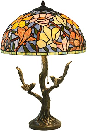 JMFHCD Tiffany Style Desk Lamp for