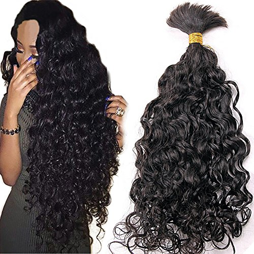 Rongduoyi 8A Grade Water Wave Bulk Hair Unprocessed Human...