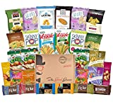 Each Non-GMO and Natural Healthy Snacks Care Package (28 Count) Includes:   (1) 1.5 oz Sahale Snacks Pomegranate Vanilla Cashews  (1) 1.5 oz Sahale Snacks Honey Almonds  (2) .875 oz Herr's Go Lite! Sweet Maui Onion Popped Chips  (1) 1.5 oz Bo...
