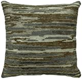 Kalaty PB-774 2222 Bespoke Pillow Area Rug, 22'' x 22'', Earthy Stripe