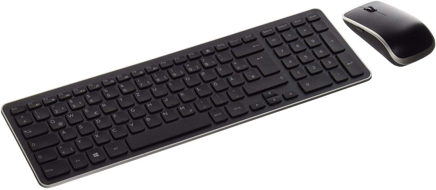 Dell KM714 WL Keyboard/Mouse Combo IM Warranty See Notes