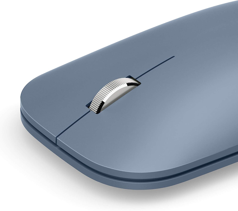 Microsoft Surface Mobile - Ratón (Bluetooth Low Energy, compatible con PC Windows/ Android / MAC BT4.0, 4.1,4.2,5.0) Azul hielo