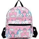 Veenajo Cute Preschool Unicorn Backpack Kindergarten Toddler Daypack Bookbag for Boys Girls (Onesize, Pink)