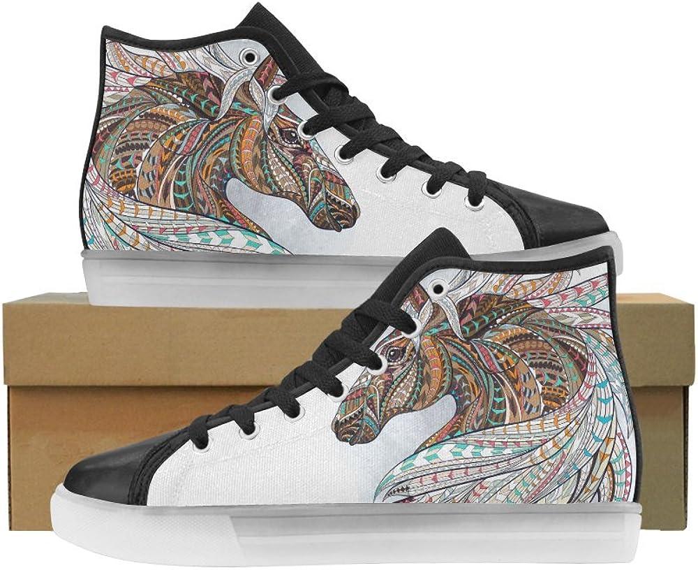 INTERESTPRINT Cool Fun Canvas Shoes