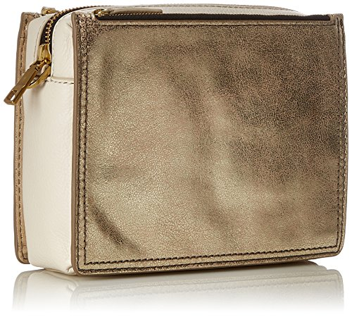 Gold pale Crossbody Metallic Cross body Campbell Bag Women's Fossil Damen Tasche 1qgg8R
