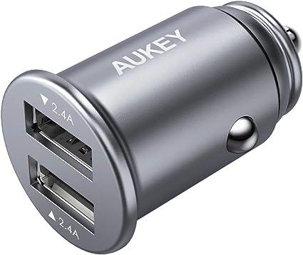 Amazon.com: Aukey - Cargador de coche de aleación de ...