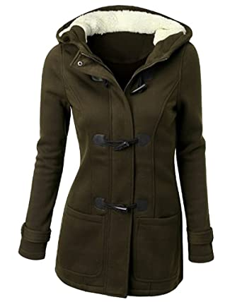 size 40 3ddb3 a8b18 ZhuiKun Mantel Damen Jacke Trenchcoat Outwear Mit Kapuze