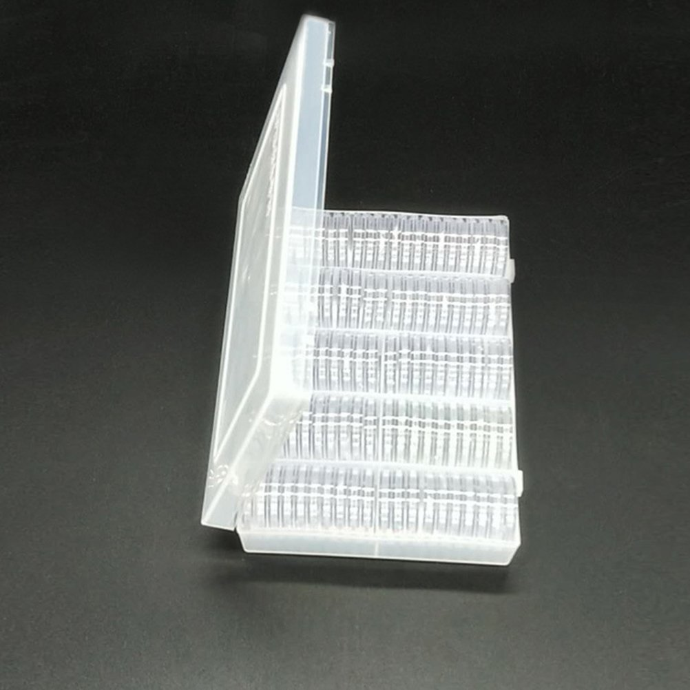 TOYANDONA 100 ST/ÜCKE 27 MM M/ünzsammlung Aufbewahrungsbox Kunststoff M/ünzhalter M/ünze Sammeln Besch/ützer Fall