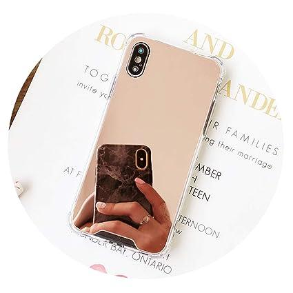 Amazon.com: Carcasa de silicona para iPhone X con efecto ...