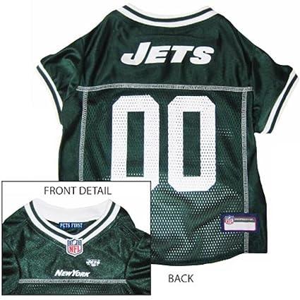 innovative design d3daa 04f26 Amazon.com : Ptf Jersey Nfl Ny Jets Xs : Sports Fan Pet T ...