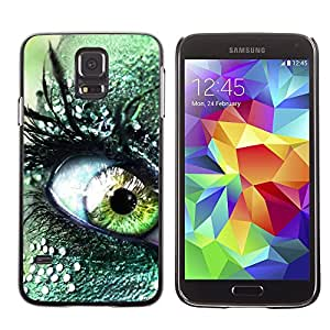 Hot Style Cell Phone PC Hard Case Cover // M00000235 Abstract Colourful Painting Pattern // Samsung Galaxy S5 i9600