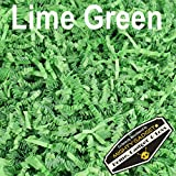 Mighty Gadget (R) 1 LB Lime Green Crinkle Cut Paper Shred Filler for Gift Wrapping & Basket Filling