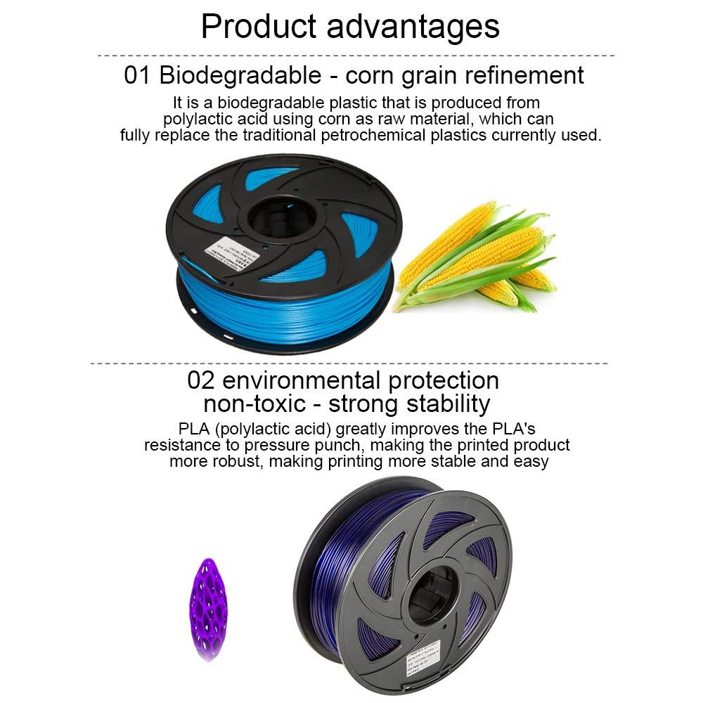 Ndier 3D Pen ABS filamento recargas 3mm 3D impresora de la pluma ...