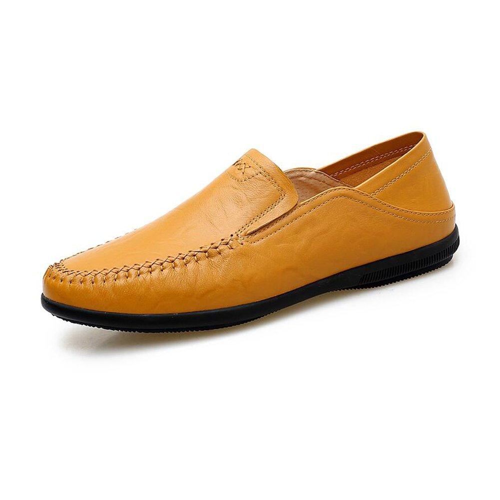 Herren Sandalen CJC Schuhe Männer Casual Fashion Leder Mokassins Fischer Wandern Fahrer Im Freien Atmungsaktiv (Farbe   T3, größe   EU41 UK7.5-8)