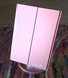 Amazon.com: Easehold Led Lighted Vanity Mirror Make Up Tri
