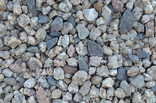 Aquarium Gravel 3/4 Inch Rock Substrate - 10 pounds (Speckled Tan) (Speckled Tan)
