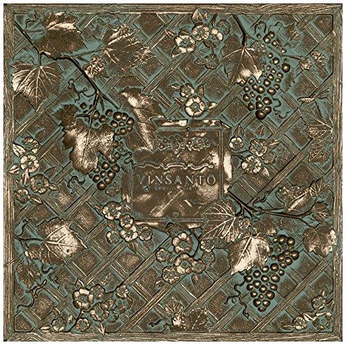 Dal-Tile 1212DECOB1P-MS11 Metal Signatures Tile, 12