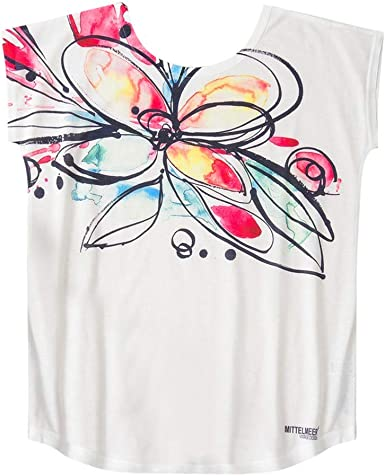 FELZ Moda Camisetas Basicas Mujer O-Cuello Impreso Blusas De ...
